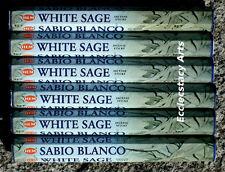 Hem White Sage Incense 20 Stick Box x 10 Packs = 200 Sticks Wholesale Bulk