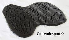 CS New Gel Jelly Non Slip Shock Absorbing Saddle pad black