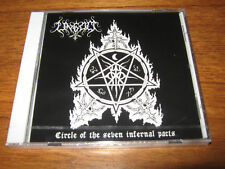 """UNGOD """"Circle of the Seven.."""" CD nocturnal varathron"""