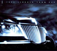 1999 LINCOLN TOWN CAR BROCHURE -TOWN CAR EXECUTIVE-TOWN CAR SIGNATURE-LINCOLN
