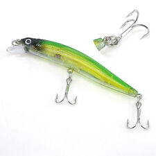 1pc Stainless Steel Hooks Minnow Bait Tackle Freshwater Fishing Lures Crankbaits