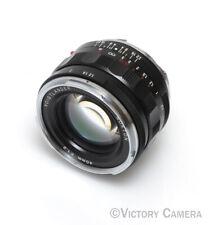 Voigtlander Nokton 40mm f1.4 Leica M Mount Lens -Clean- (035-1)