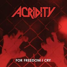 ACRIDITY - For Freedom I Cry (NEW*LIM.500*US SPEED/THRASH METAL '90 + 5  BONUS)