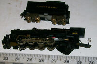 2=8=2 Mikado Pennline/Bowser Metal HO Steam Locomotive & Tender PENNSYLANIA RR