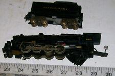 2=8=2 Mikado Pennline/Bowser Metal Ho Steam Locomotive & Tender Pennsylania Rr