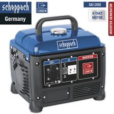 Scheppach  Inverter Stromerzeuger SG1200 1200Watt 4-Takter 2,8PS Stromgenerator