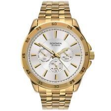 New Sekonda Classic Yellow Gold Day Date Mens Watch 1586