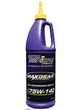 ROYAL PURPLE MAX GEAR 75W140 GL -5 CON ADDITIVO LSD 946 ML RP01301