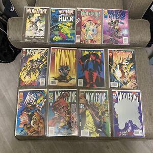 Wolverine LOT (12 Issues) # 88 Deadpool, #100 Anniversary Event- Marvel Comics
