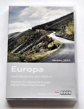 FULL SET Audi A3 A4 A6 TT R8 RNS-E navigation DVD 2015/2016 UK Germany France NL