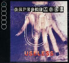 DEPECHE MODE - USELESS, 2004 EU 10-TRACK CD EP, NEW - SEALED!