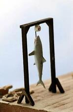 SHARK CATCH Waterfront Detail Shark Catch hanging from scale HO Scale