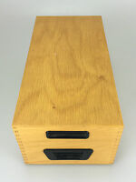 50er 60er Jahre Karteikasten Holz Archiv Aufbewahrung Mid Century Design 2/2