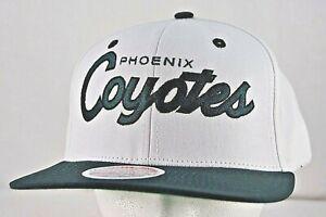 Phoenix Coyotes White/Green NHL Baseball Cap Snapback