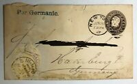 Lot of 4 -  Antique Old USA STAMPS COVER POSTAL HISTORY - h-377