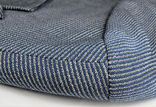 HUGO BOSS Rossellini Mens Blazer Suit Jacket Blue Striped 40 Tall Wool