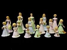 Enesco Growing Up Girls - Age 1 through 16 - 1981 - Blonde