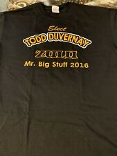 2016 Krewe Of Zulu Mr. Big Stuff Mardi Gras T-Shirt Large Euc