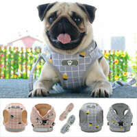 Dog Pet Mesh Reflective Harness Leash Set Puppy Cat Vest Harness XS-XL