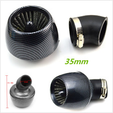35mm Air Filter Cleaner Honda Kawasaki Motorcycle Pit Bike ATV Scooter