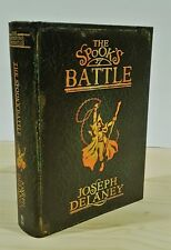 JOSEPH DELANEY THE SPOOK'S BATTLE SIGNED DATED UK 1st PRINTING NEW & UNREAD