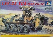 Italeri 263 LAV-25 TUA Tank Killer 1:35 Neu, nicht eingetütet