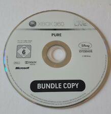 Pure Xbox 360 Spiel fahren Rennwagen Bundle Copy Disc nur Geschenk