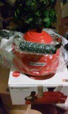 Le Creuset 1.7 Quart Chili Red Enameled Tea Kettle Kitchen Tea Pots Party