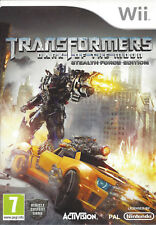 TRANSFORMERS DARK OF THE MOON - STEALTH FORCE EDITION for Nintendo Wii - PAL
