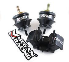 MEGAN RACING REINFORCED ENGINE MOTOR MOUNTS FOR 92-97 LEXUS SC300 AT AUTO 2JZ