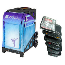 Zuca Ice Dreamz Sport Insert Bag with Black Frame and Packing Pouch Set