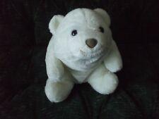 "10"" Gund Snuffles bear white and very huggable"