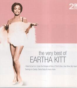 EARTHA KITT 2CD THE VERY BEST OF - like new 35 tracks SANTA BABY c'est si bon