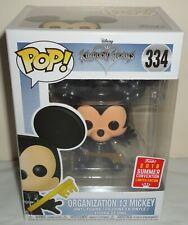 Funko Pop Disney Kingdom Hearts Organization 13 Mickey figure 334 2018 exclusive