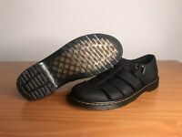 Dr. Martens Fenton Leather Sandal Black Grizzly Mens 10 US AW004 KV12S
