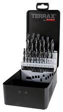 Terrax by RUKO 25pcs. HSS-R Twist Drill Bits Set 1-13.0mm in increments of 0.5mm