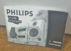 Philips FW-C38 Mini Hifi System Manual Only - S1