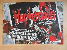 MURDERDOLLS 2010 ALBUM  orig.Konzert Poster Plakat