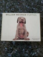 William Wegman Weimaraner Dogs Boxed Set Of 40 Collectible Postcards