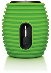 Philips SoundShooter Portable Speaker Mini SBA3010/37 GRN Beehive NOT BLUETOOTH