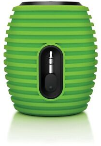 Philips SoundShooter Portable Speaker Mini SBA3010/37 GRN Beehive NOT BLUETOOTH