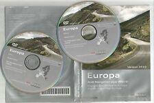 ORIGINALE AUDI RNS-E 2004-2009 Disco di navigazione DVD NAVIGATORE SATELLITARE MAPPA 2010 Set Completo 2 CD