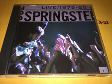 BRUCE SPRINGSTEEN cd LIVE hits (disc 1) THUNDER ROAD fire HUNGRY HEART rosalita