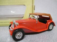 Matchbox Yesteryear Y-8  MG-TC  Red Coachwork..mint model