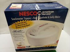 Nesco American Harvest Snackmaster Express Food Dehydrator