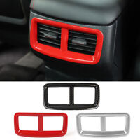 RED Rear Air Condition Vent Outlet Cover Trim For Dodge Challenger 2015-2019 NEW