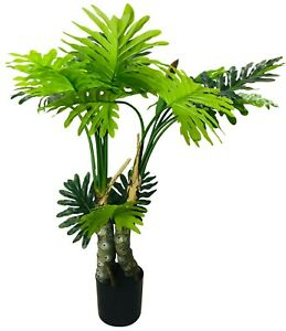 Philodendron Artificial Tree Spot Stems 135cm Home House Hotel Lobby Events