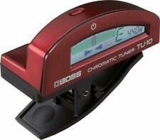 BOSS Clip Tuner Red TU-10-RD TU10RD