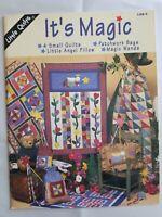 Vintage 1998 IT'S MAGIC Quilt Patterns Shortcuts Applique Patchwork Scrap Quilt