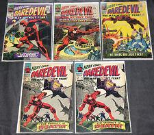 Marvel Silver-Bronze Age DAREDEVIL 26pc Count Mid Grade Comic Lot VG-VF Netflix